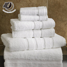 100% Cotton Gym / Hotel White Towel