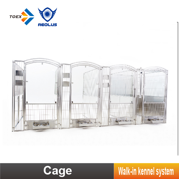Customized Professional Walk-in Kennel Multiple Outdoor Large Dog Crate Kennels