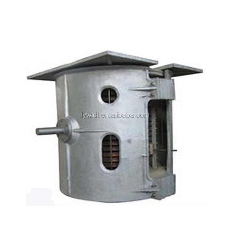 1 ton metal foundry iron scrap smelting electric oven