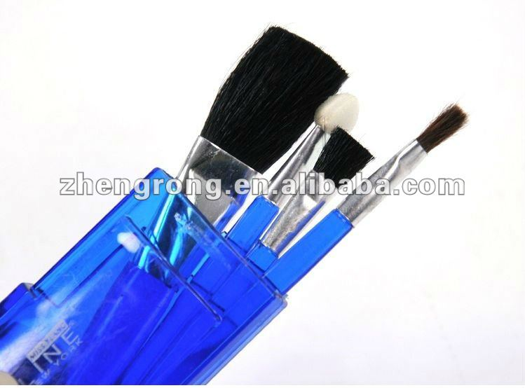 Beauty 4pcs cosmetic brush set beauty accessories