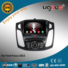 Android 9 inch 1024*600 touch screen car video dvd player for 2015 Ford Focus car radio gps