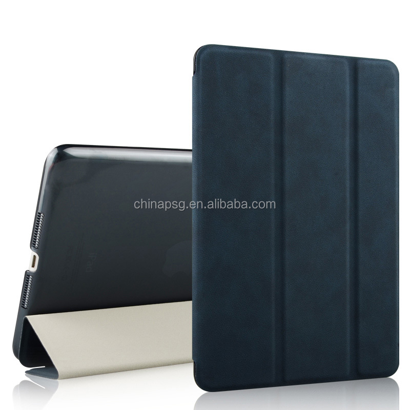 for Apple ipad mini 4 7.9 inch Tablet Cover PU Leather Stand Folio 11 Color Fashion Protective Case