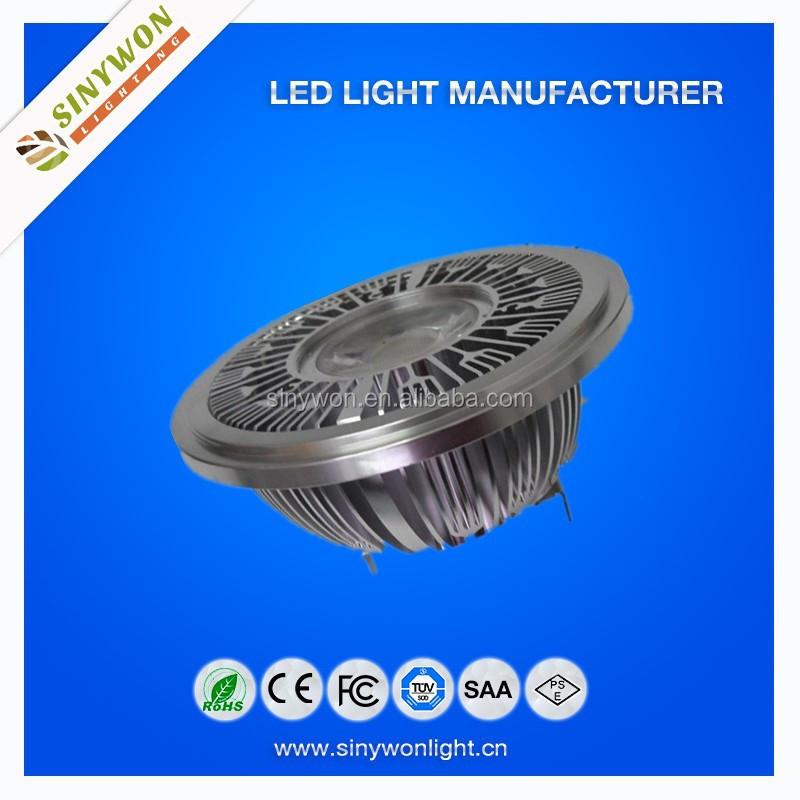 European Standard 12w Led Lamp AR111 G53 220v with Competitive Price