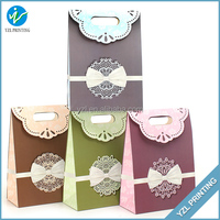 Luxury Laminated Shopping Gift Paper Bags For Promotion