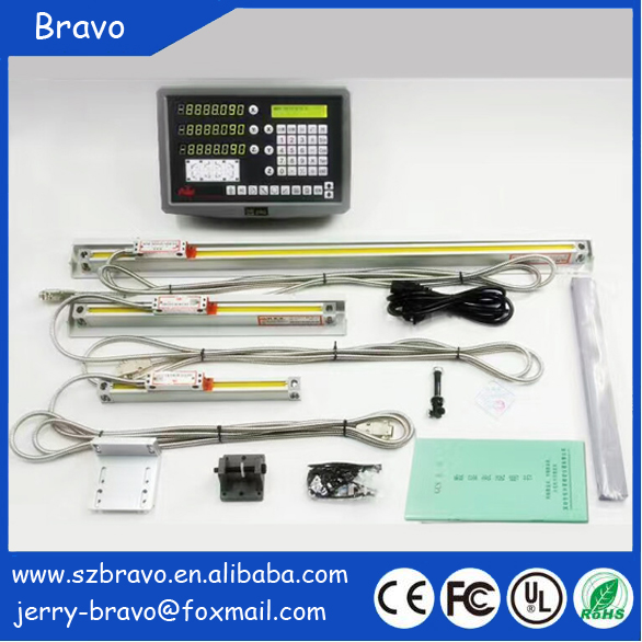 Best Price hot selling DRO with 2 Axis linear scale and digital readout kit