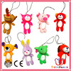 GSV SEDEX Factory cute style popular plush keychain toys