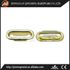 Fancy Shiny Metal Brass Oval Shoelace Eyelets For Shoes