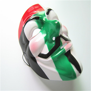 Clear plastic masks pvc full face masks for party