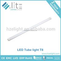 Competitive price integrative connection 120 degree beam angle 1200mm smd2835 dimmable led tube manufactures T5