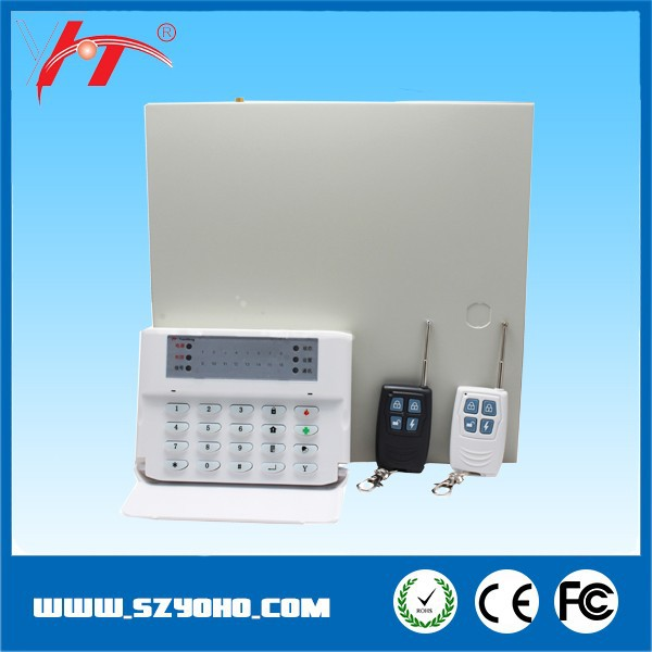 long range fence wire home alarm system /gprs alarm system