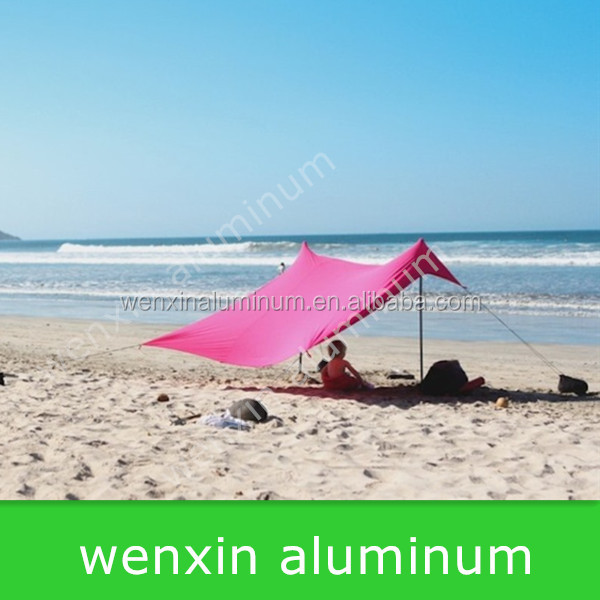 22MM Aluminum Beach tent and tent pole manufacture