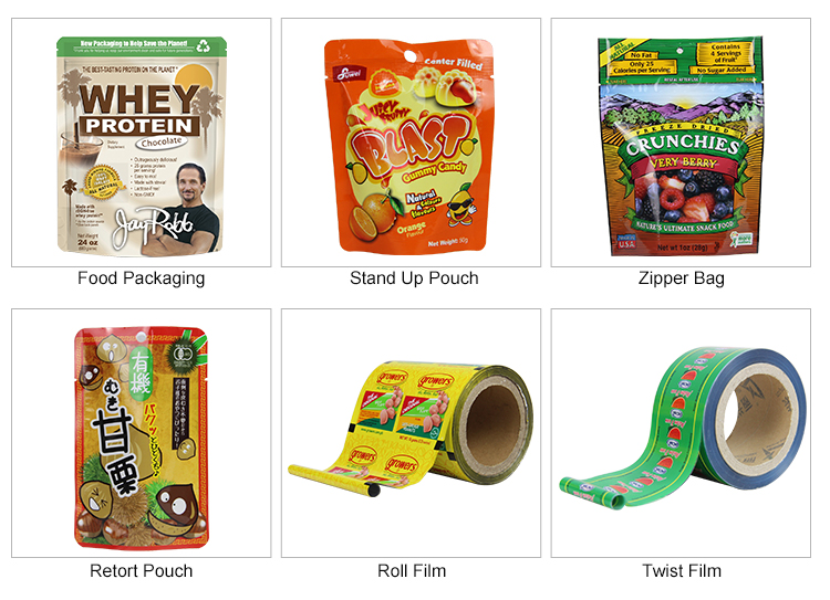 LIXING PACKAGING vegetable packaging printing spout pouch for baby food