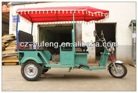 most popular electric rickshaw for passengers