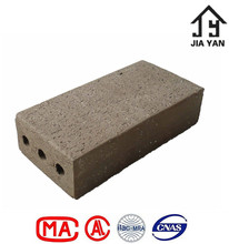 Standard road use thin red clay paver brick