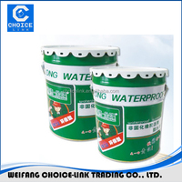 Non-cured rubber asphalt waterproof coating/paint