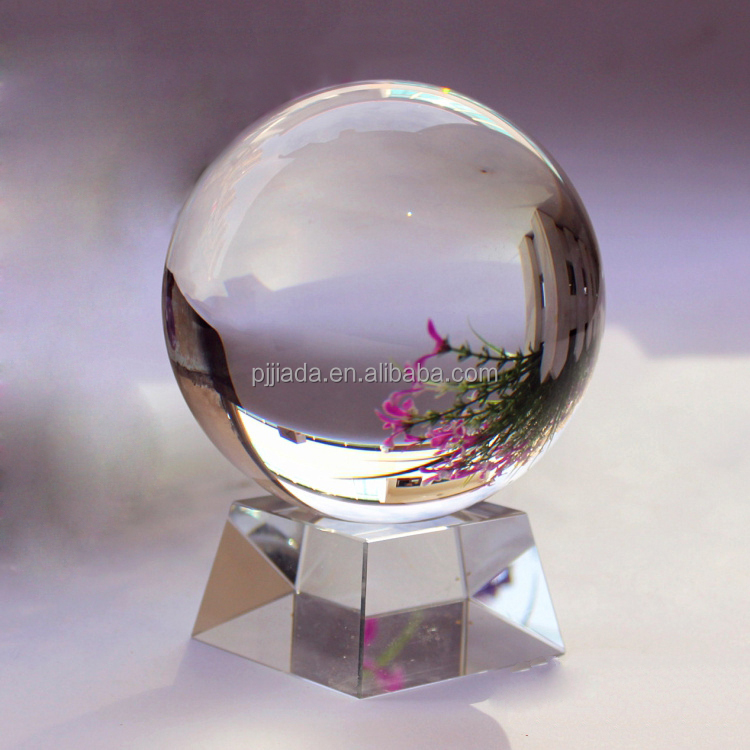 2016 New design clear Christmas Crystal Ball gift