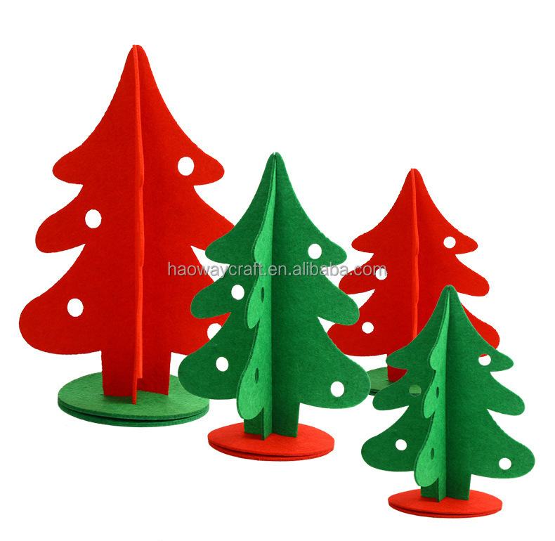 Felt christmas ornaments christmas mini tree for sale