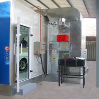 paint booth china/spray booth china/baking oven cars
