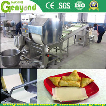 stainless steel spring roll sheet making machine