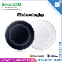 Hot selling high quality qi universal wireless charging pad with holder for smart phone wireless charger