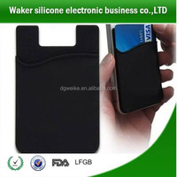 Wallet Case Cell Phone Case / Phone Wallet Sticker / Smart Wallet Silicone Card Pocket for Phones