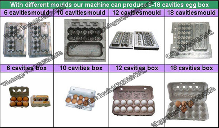 advanced paper egg tray machine