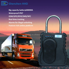 gps tracker electronic lock for truck container door security