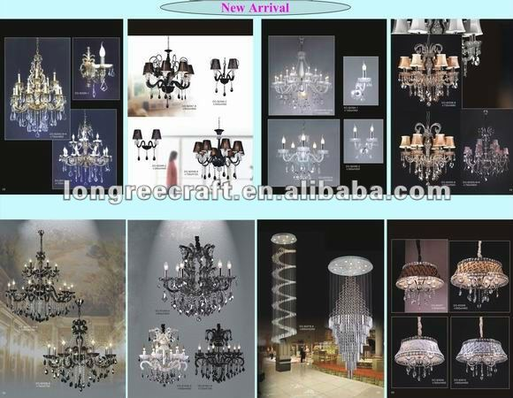 Restaurant Decoration Vintage Candle Chandelier Crystal Chandelier Lighting