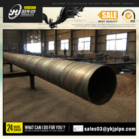 1700mm diameter spiral welded steel pipes / HSAW steel pipes/ SSAW steel Tube