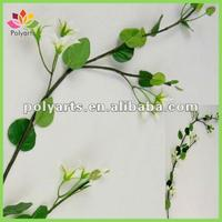 real touch artificial big leaves spray for tree decoration