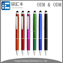 multi color plastic ball pen promotional with thin point
