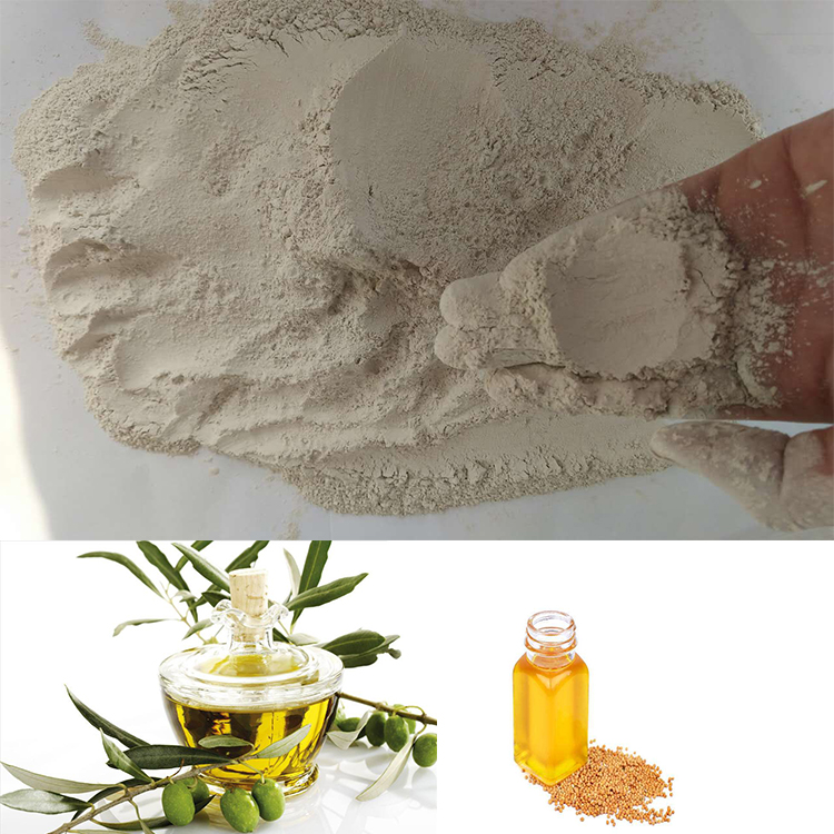 activated bleaching earth bentonite clay for mustard oil refining