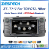 ZESTECH pc car touch screen for Toyota Hilux car dvd gps wholesale supporting SWC, sd, usb, 3g