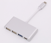 Type c male to Female+USB 3.0+USB 2.0*2 socket Adapter