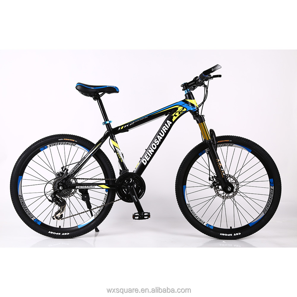26 inch 21 speed Steel frame mountain bike suspension fork MTB <strong>bicycle</strong> for men