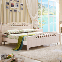 South Shore Pastoral style Queen Bed Set Furniture, Bed Bedroom Set Furniture