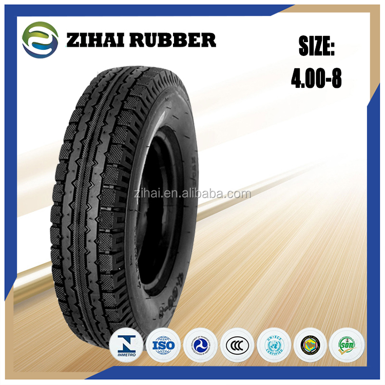 Hot Sale Various Size 400-8 Motorcycle Tire In China