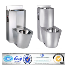 On-floor ,Wall Waste , blowout jet stainless steel security toilet