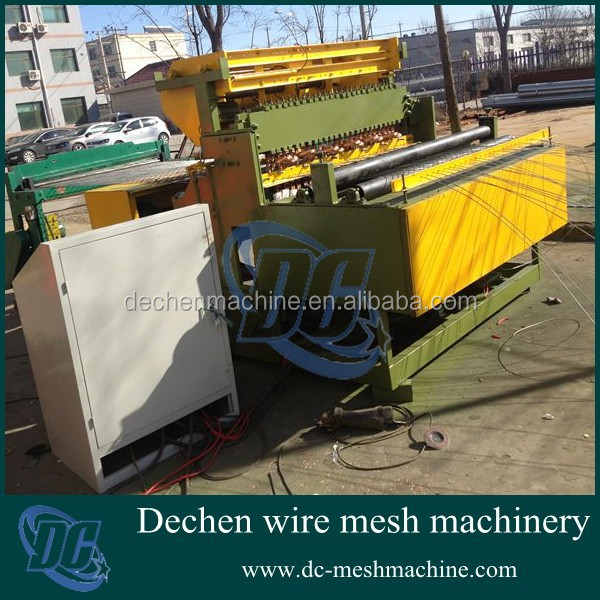 DECHEN Low-carbon steel wire pet cage welding mesh machine
