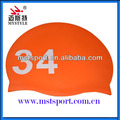 Triathlon china waterproof swimming caps