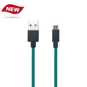 New nylon material USB 3.0 type C to Micro B cable