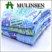 Mulinsen Textile High Quality Plain Woven Printed 100% Rayon Challis Garment Uses of Viscose Fabric