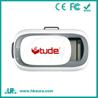 3.5-5.5 inch mobile phone support 5.0 android and ios oem vr box 2 virtual reality 3d glasses