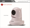 China Top Ten Easy Installation hidden wifi ip camera with Email Alert