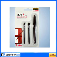 Big/SMALL LCD Touch Pen Stylus For Nintendo DSi NDSi LL XL (Black/white)