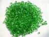 2-4mm green landscape garden glass pebbles