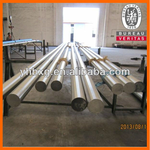 304 stainless steel round bar used as marine shaft
