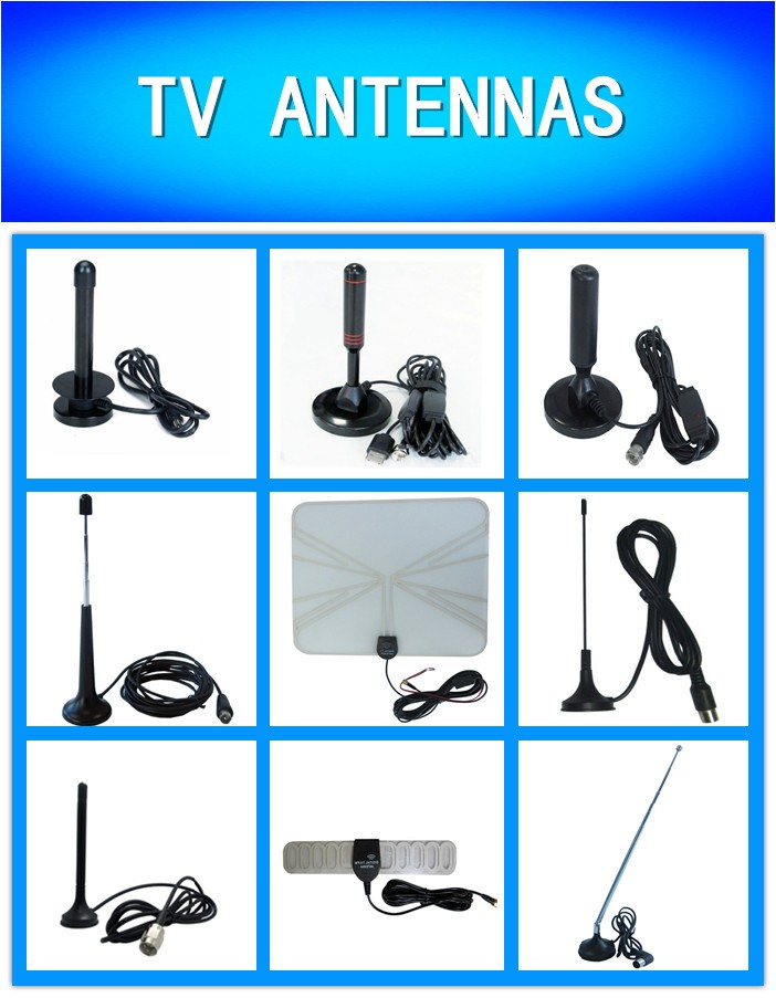 Wholesale high gain 25db ATSC DVB-T DVB-T2 indoor digital TV antenna amplifier