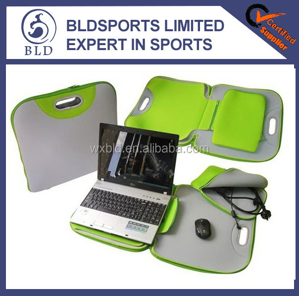 fashional and high quality portable neoprene laptop sleeve