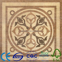 China best nanmu eco forest laminate flooring